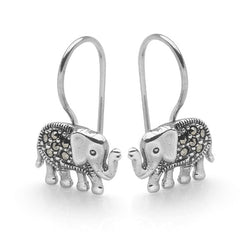 Elephant Shadow Earrings