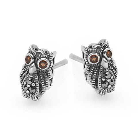 Midnight Owl Studs (Large)