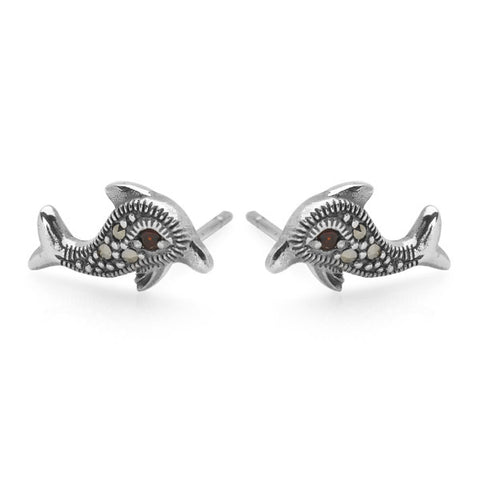 Twilight Dolphin Studs
