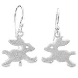 Satin Bunny Earrings