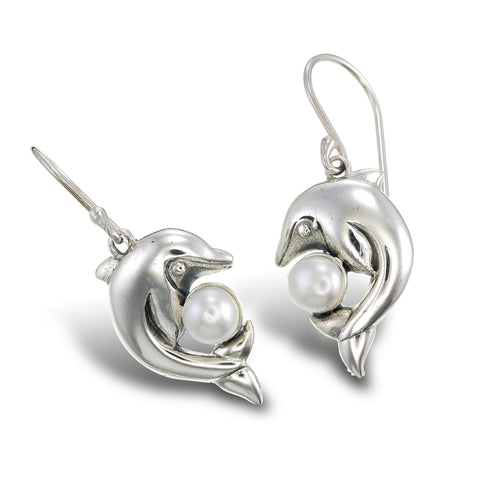 Moonshine Dolphin Earrings