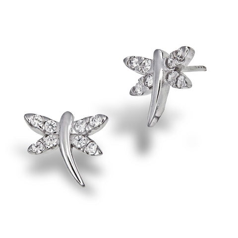 Graceful Dragonfly Studs