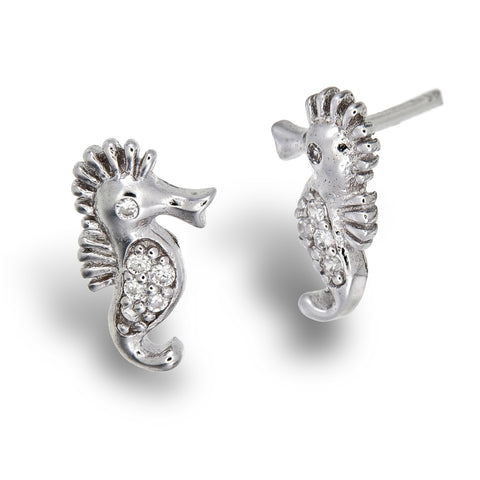 Little Seahorse Studs