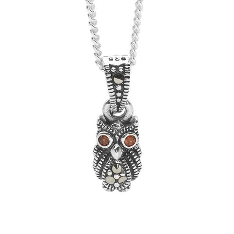 Midnight Owl Pendant