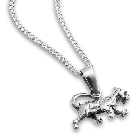 Silver Panther Pendant