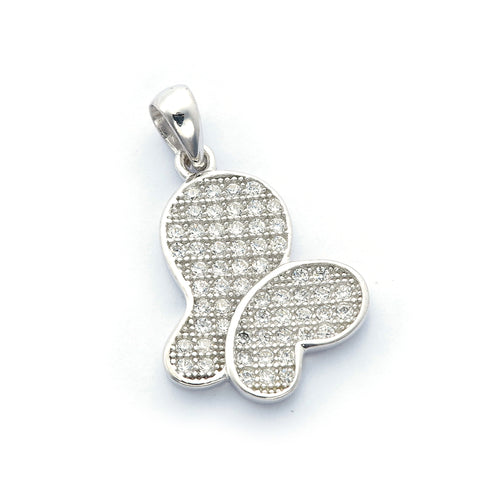 Sparkling Butterfly Pendant