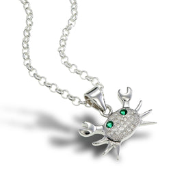 Tiny Crab Pendant