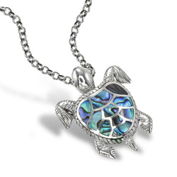 Nautical Sea Turtle Pendant