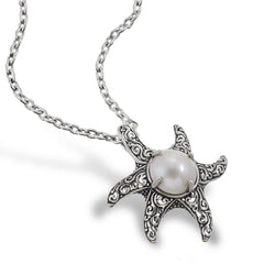 Moonlight Starfish Pendant