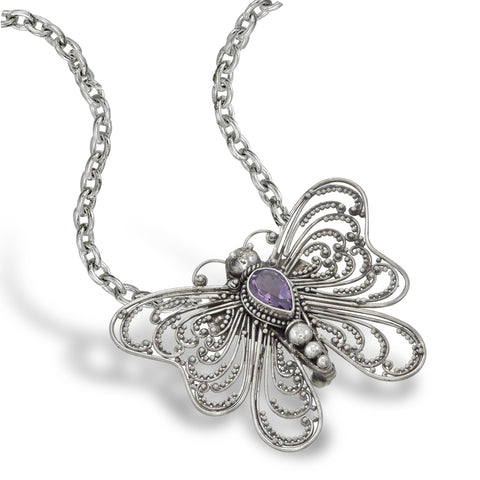 Madam Butterfly Pendant / Brooch