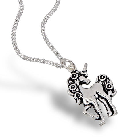 Fanciful Unicorn Pendant
