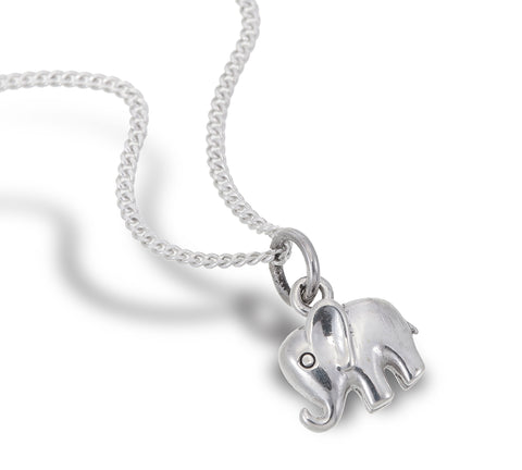 Tiny Elephant Pendant