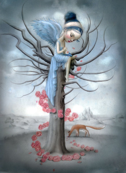 Nicoletta Ceccoli: Bluebird and the Fox