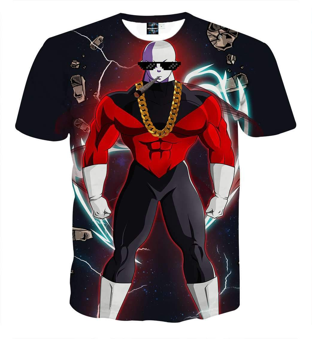 T Shirt 3D - T Shirt 3D All Over Dragon Ball Super Jiren Badass