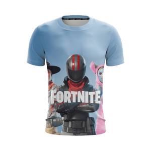 T Shirt 3D - T Shirt 3D All Over Fortnite Burnout Skin