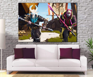 Décoration murale Fortnite Raid