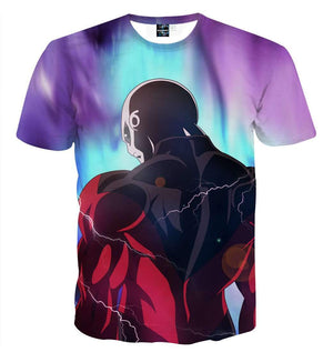 T Shirt 3D - T Shirt 3D All Over Dragon Ball Super Jiren Legend