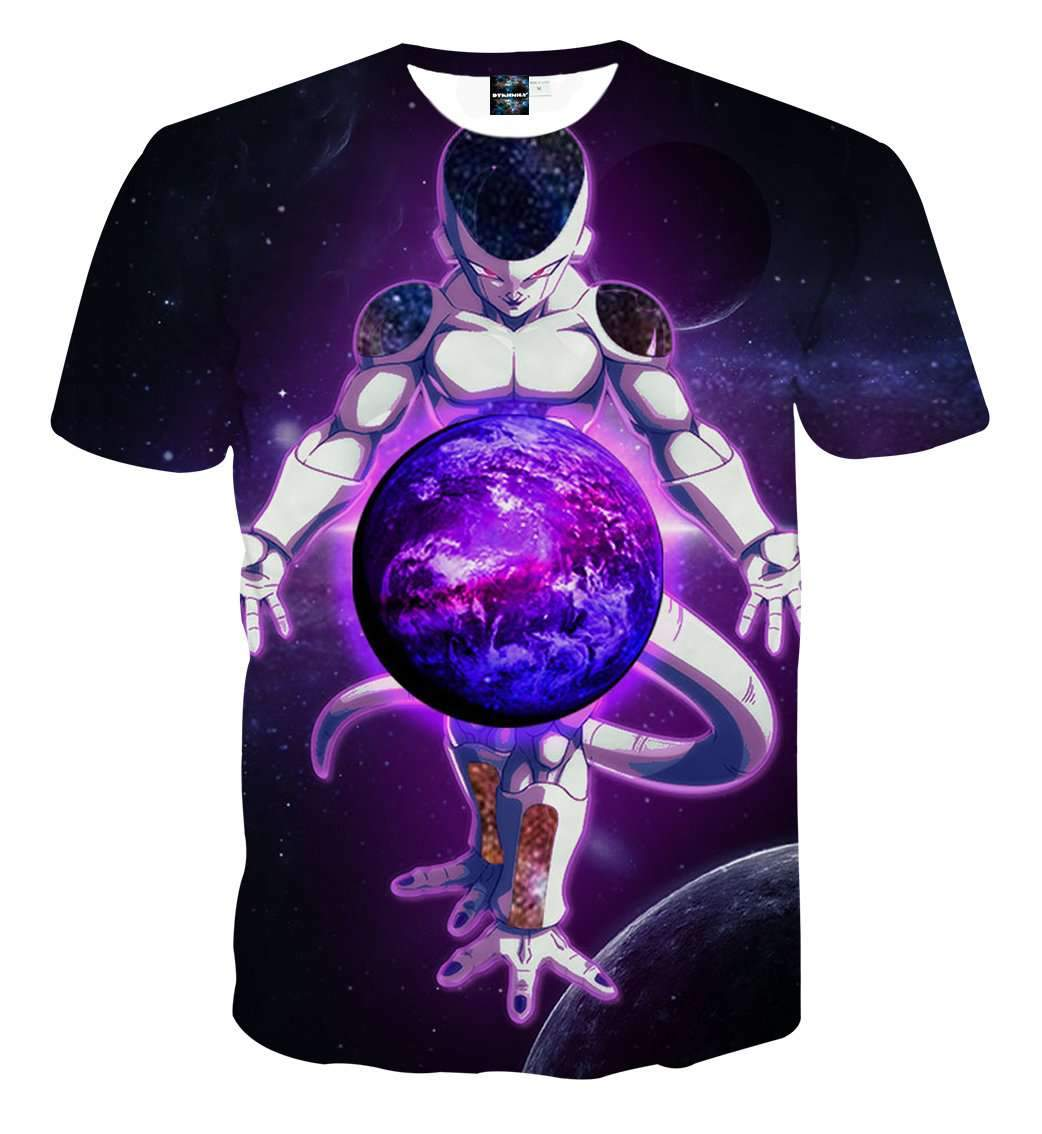 T Shirt 3D - T Shirt 3D All Over Dragon Ball Z Freeza Destruction