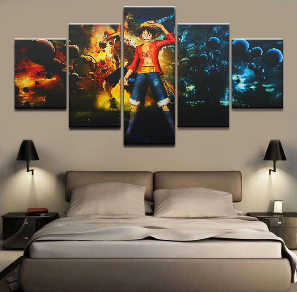 decoration murale one piece