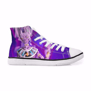 Chaussures Montantes - Chaussures Baskets Dragon Ball Super Beerus
