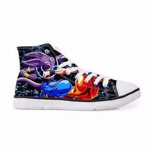 Chaussures Montantes - Chaussures Baskets Dragon Ball Super Beerus Fight