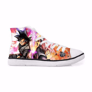 Chaussures Montantes - Chaussures Baskets Dragon Ball Super Black Forms