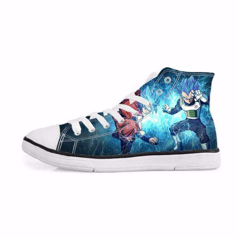 Chaussures Montantes - Chaussures Baskets Dragon Ball Super Vegeta X Goku