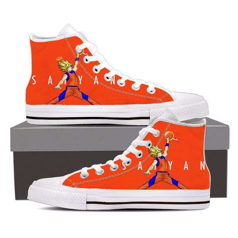 Chaussures Montantes - Chaussures Baskets Dragon Ball Z Goku Saiyan