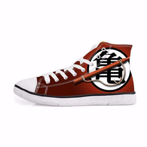 Chaussures Montantes - Chaussures Baskets Dragon Ball Z Goku Symbôle