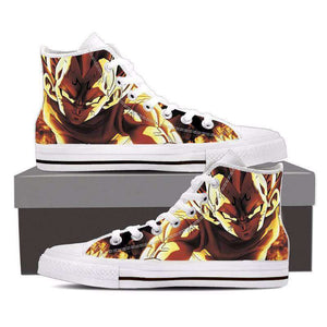 Chaussures Montantes - Chaussures Baskets Dragon Ball Z Majin Vegeta