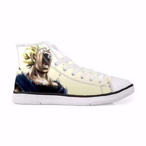 Chaussures Montantes - Chaussures Baskets Dragon Ball Z Vegeta Super Saiyan
