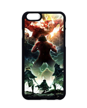 Coques - Coque Attack On Titan Eren Titan Vs Colossal Titan