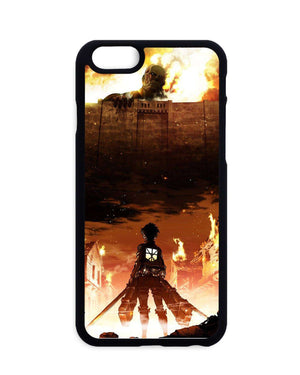 Coques - Coque Attack On Titan Eren X Colossan Titan