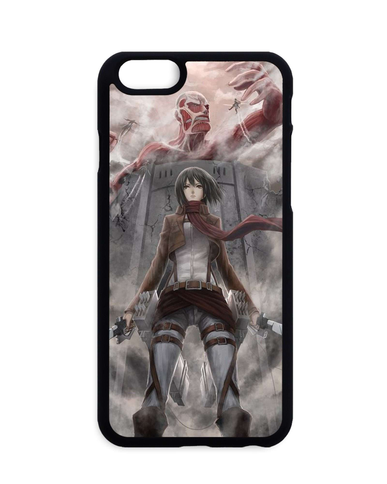 Coques - Coque Attack On Titan Mikasa X Colossan Titan