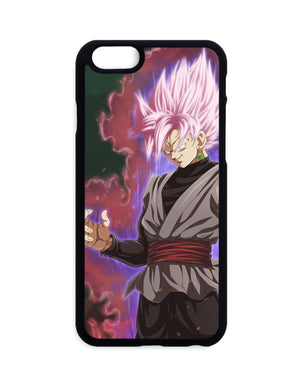 Coques - Coque Dragon Ball Super Black Super Saiyan Rosé