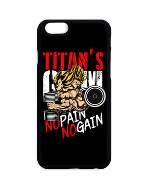 Coques - Coque Dragon Ball Z Goku X Vegeta No Pain No Gain