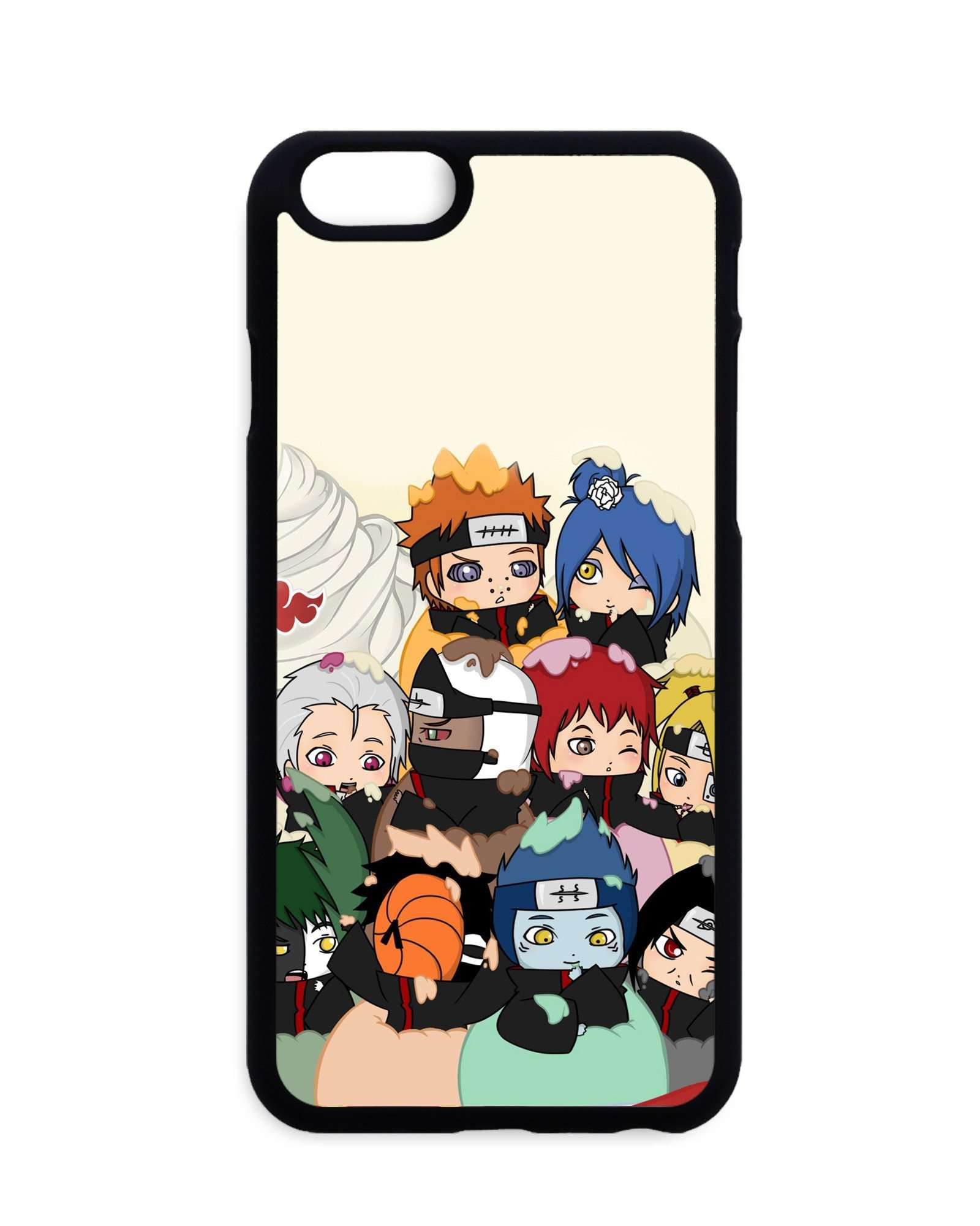 coque iphone xr naruto akatsuki