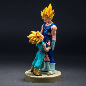 Figurine - Figurine Dragon Ball Z Vegeta X Trunks