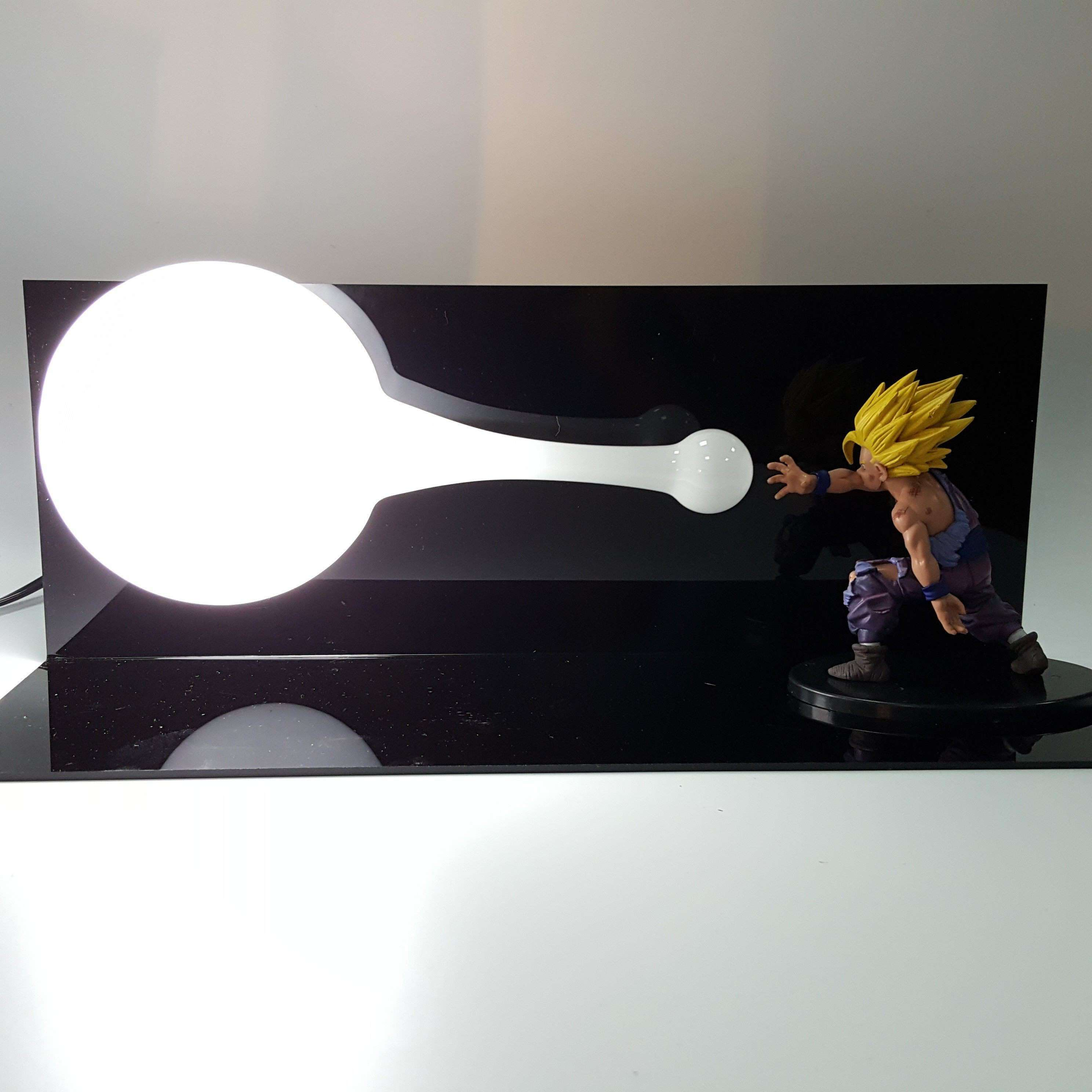 Lampes - Lampe Dragon Ball Z Gohan SSJ2 Final Kamehameha