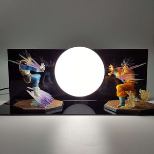 Lampes - Lampe Dragon Ball Z Goku Vs Vegeta