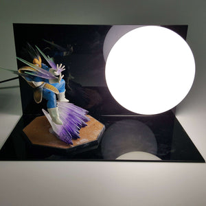 Lampes - Lampe Dragon Ball Z  Prince Vegeta