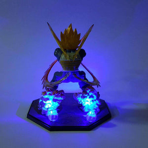 Lampes - Lampe LED Dragon Ball Z Vegeta Attack