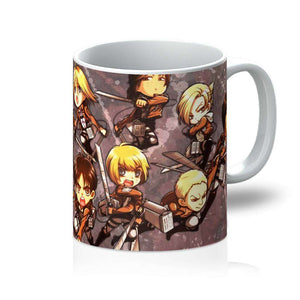 Mug - Mug Attack On Titans Chibi