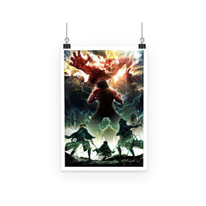 Poster - Poster Attack On Titans Colossal Titan Attack