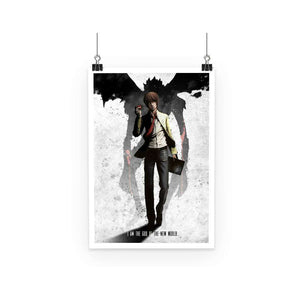 Poster - Poster Death Note Light New World