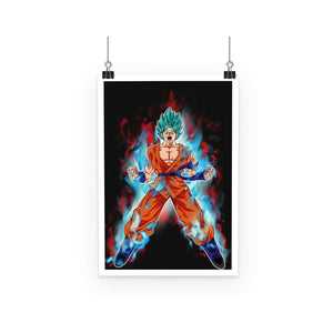 Poster - Poster Dragon Ball Super Goku Kaioken