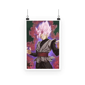 Poster - Poster Dragon Ball Z Black SS Rosé