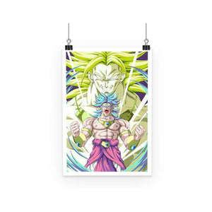 Poster - Poster Dragon Ball Z Broly Evolution