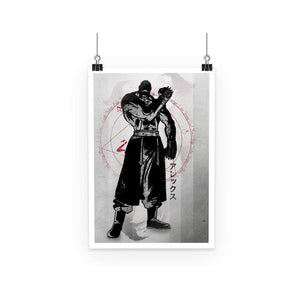 Poster - Poster Full Metal Alchemist Armstrong