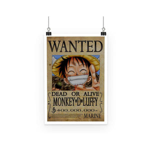 Poster - Poster One Piece Luffy Wanted
